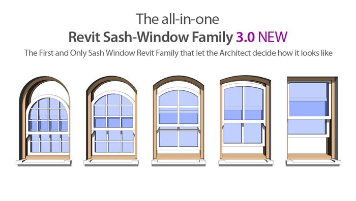 Revit Content: The All-in-One Sash Window Revit Family 3.0 ...
