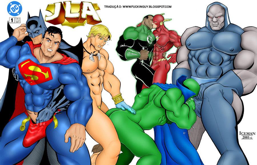 Justice Liga Porno Sex