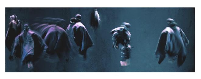 """la audiencia"" 51x150 cn 2005"