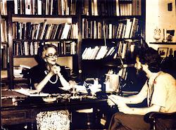 """Το 1977 στα γραφεία της εφημερίδας """"Η Καθημερινή"""""""