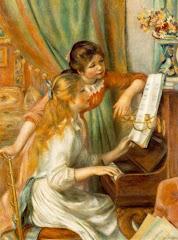 Renoir (Dos jóvenes al piano)