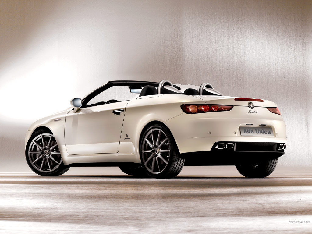 white alfa romeo spider 38 wallpapers hd desktop wallpapers. Black Bedroom Furniture Sets. Home Design Ideas