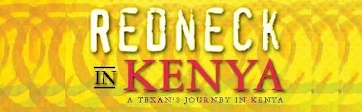Redneck in Kenya