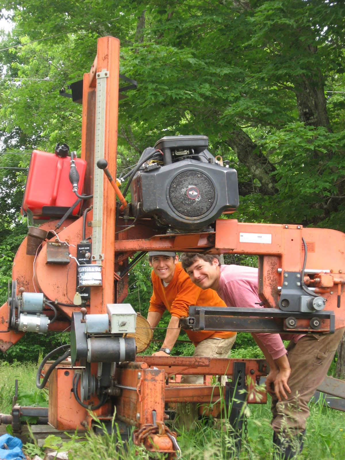 Woodmizer in Action | North Branch Farm