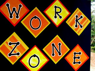 construction party work zone