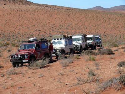 Nos trilhos dos prospectores do Kalahari