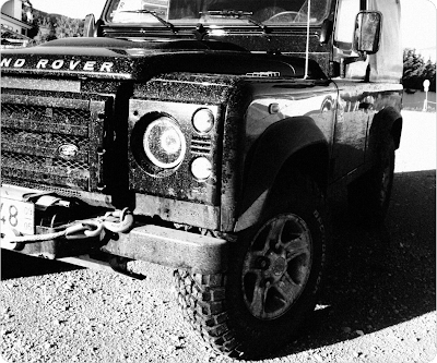 Land Rover Defender Black Edition by António Laranjeira
