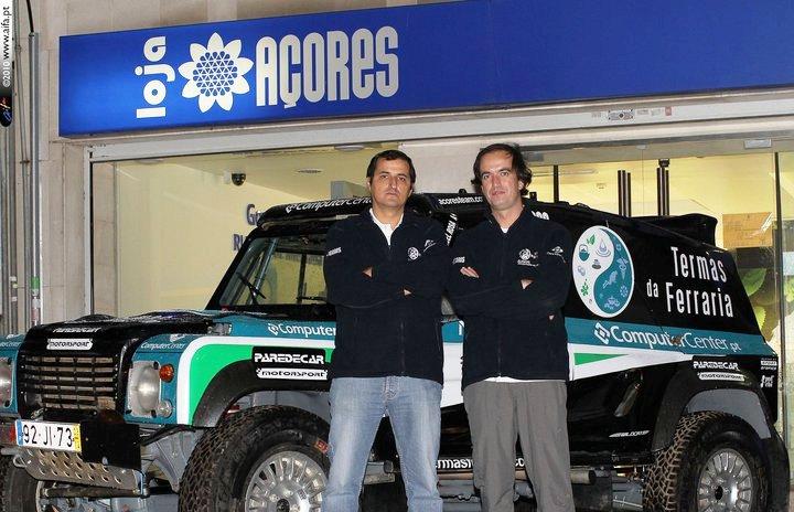 Bruno Oliveira e Manuel Rosa no África Race 2011