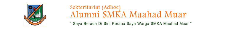 Sekretariat (Adhoc) Alumni SMKA Maahad Muar
