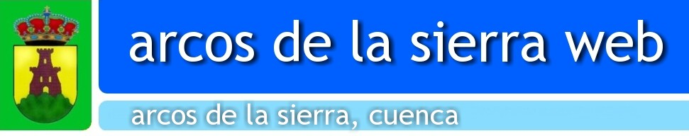 ARCOS DE LA SIERRA, CUENCA - ARCOS DE LA SIERRA WEB
