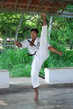 Karatedo - Kakato Geri