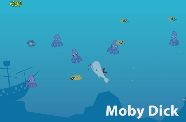 moby dick whale game