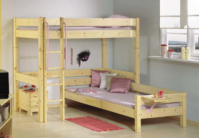 Thuka Maxi 28- Highsleeper Bed with with Sofa Bed and Bedside Cabinet from Furniture 123