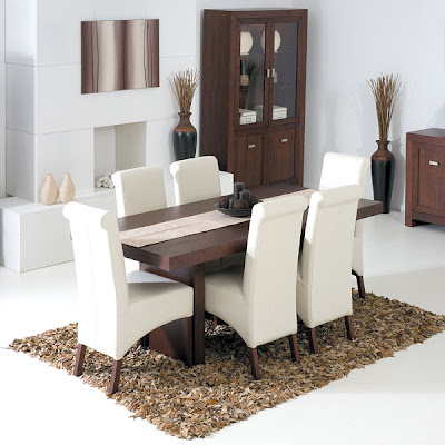 Atlas Slab Rectangular Dining Set from Furniture 123
