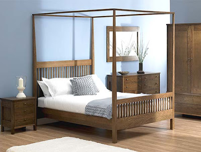 Newhaven Four Poster Bedstead from Furniture 123