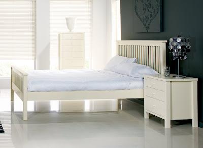 Atlantis Ivory Oak Bedstead from Furniture 123