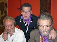 Con Jesús Melero y Juan M. Pozo