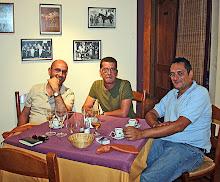 Con Manuel Mateo y Luismi Carceller