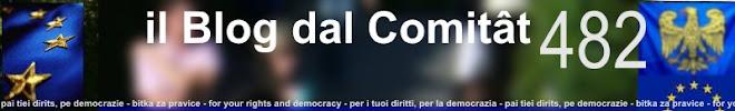Il blog dal Comitât 482