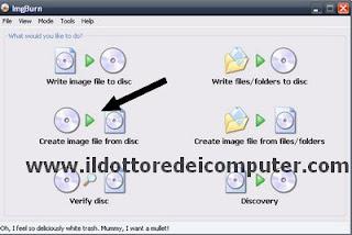 creare immagine ISO di Windows o altro DVD