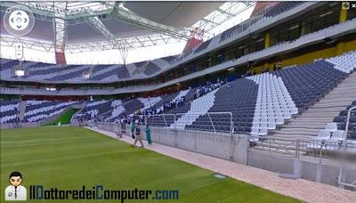 tour virtuale stadio mondiale partite italia