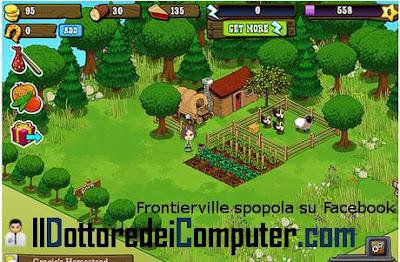frontierville gioco di facebook