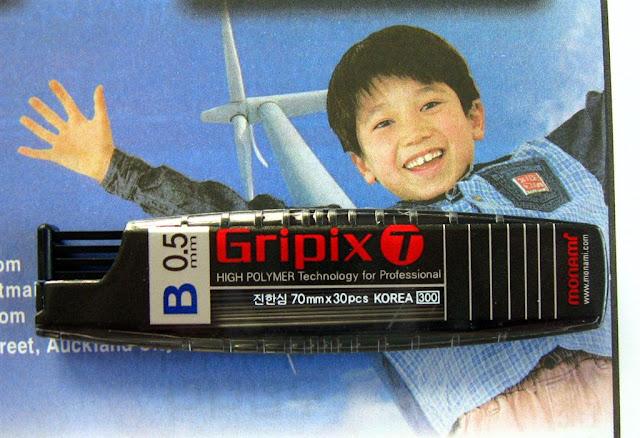 gripix-t b grade lead refill container