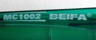 Beifa MC1002 printing