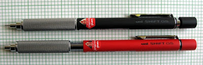 Comparison of Uni Shift Mechanical Pencil