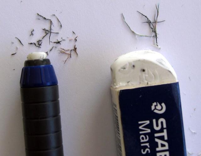 Staedtler Mars v Faber-Castell eraser pen