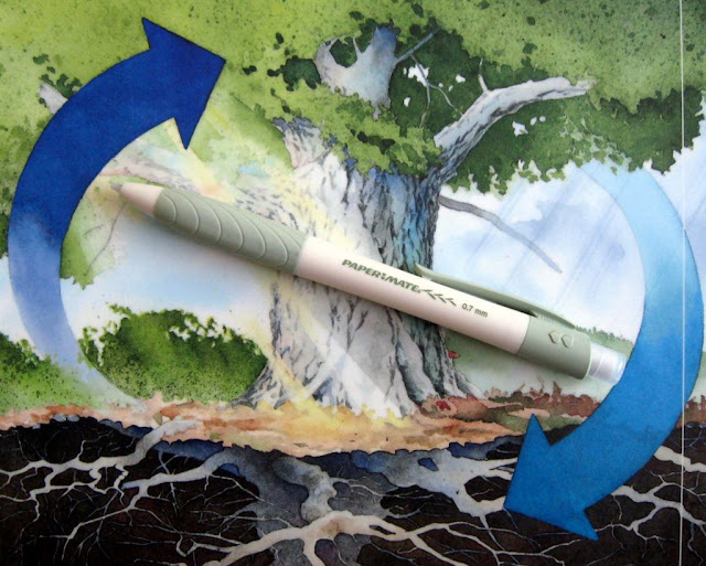 papermate biodegradable pencil