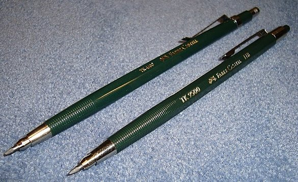 faber-castell tk 4600 and tk 9500 leadholder clutch pencils