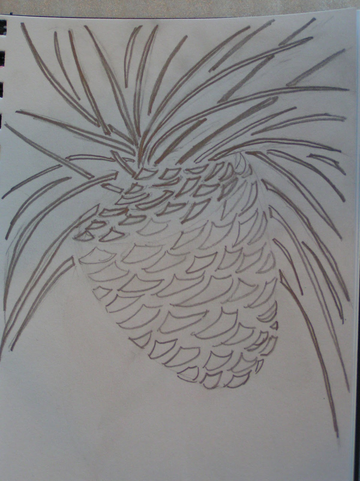 Pine Tree Stencil The stencil would work.