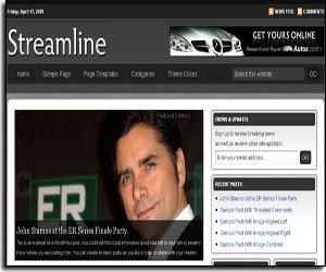 streamline premium theme