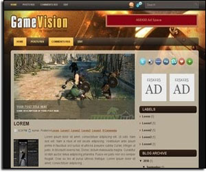 GameVision BLogger Template