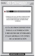 Guía para la Autorización y Registro de Entidades Evaluadoras