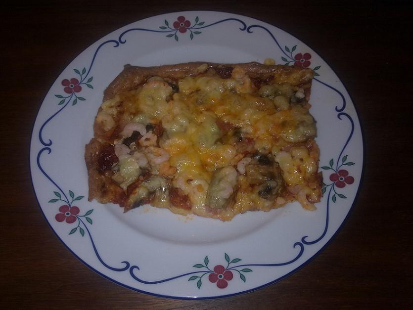 pizza utan bröd