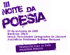 Noite de Poesia em Itararé, na FAFIT