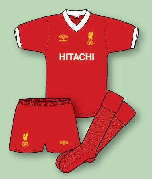 Liverpool Kit History 14: LIVERPOOL FOOTBALL SHIRT HISTORY: Liverpool Kit 1976–77 To