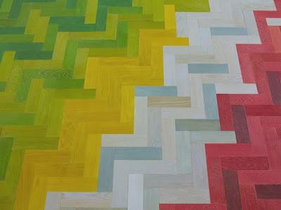 Painted Vinyl Floor Cloth