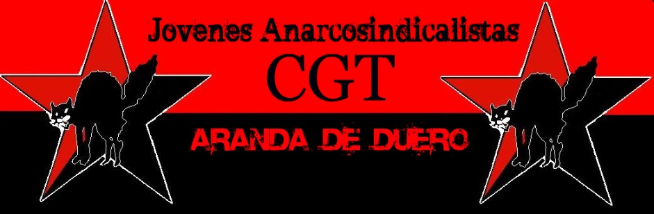 Jovenes Anarcosindicalistas CGT Aranda de Duero.