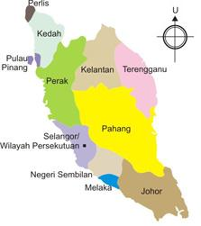 States of Malaysia