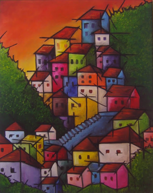 A Favela - The stylized Slum
