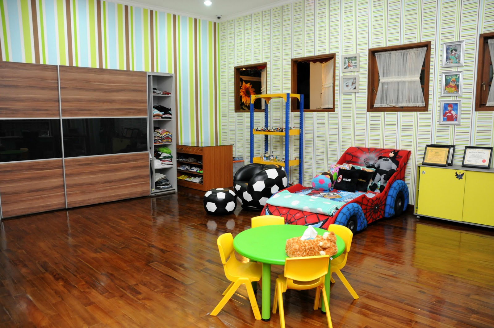 Home and Garden Review and Tips: Designing Child Play Room