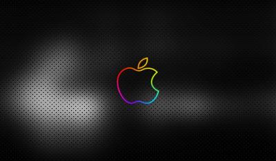 Imagen de un wallpaper sobre Apple retro