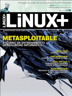 Imagen de la revista Linux+ de Julio del 2010