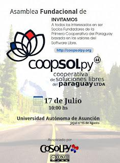 Imagen de la Asamblea Fundacional Coopsolpy