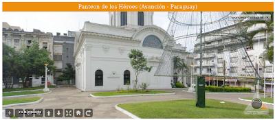 Imagen del Panteón de los Héroes (Asunción - Paraguay)