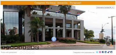 Imagen del Congreso Nacional (Asunción - Paraguay)