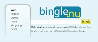 Imagen de Bingle - buscador alternativo